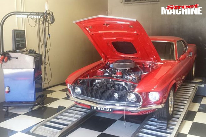 Ford Mustang 600 cubes