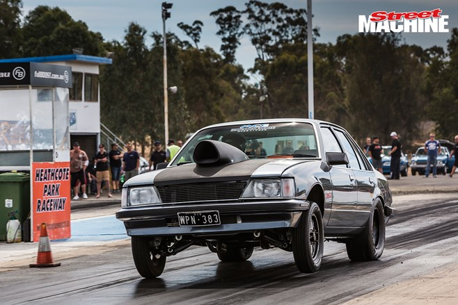 Holden Commodore burnout