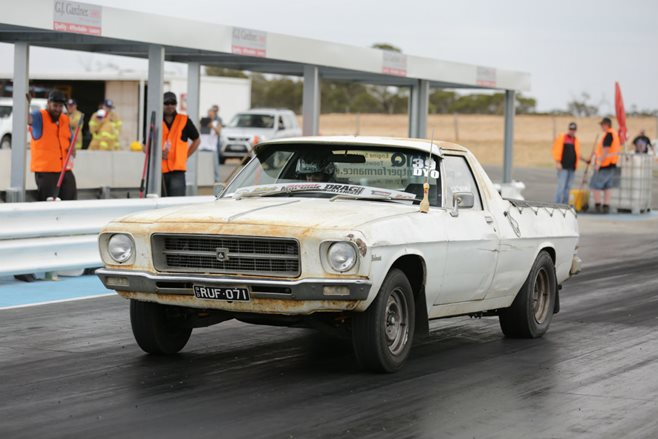Holden HQ farm ute sleeper