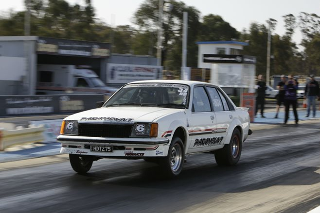 Holden Commodore Drag Challenge Terry Seng