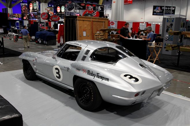 SEMA 2015 Mickey Thompson Corvette