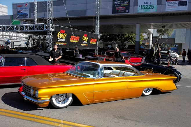 Oldsmobile 98 custom SEMA 2015