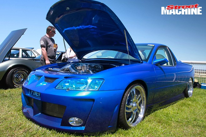 Holden Commodore ute show car