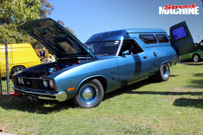 XC Ford Falcon panel van Majestic Vanners