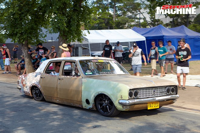 RAILED HK Holden Summernats