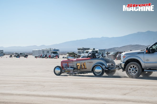El Mirage Land Speed racing