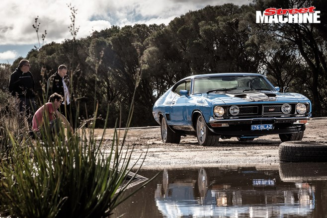 Ford XB Falcon coupe 351