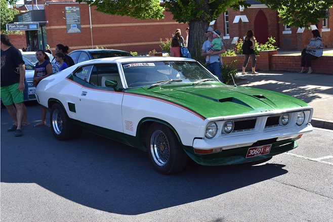 Phil Thompson's genuine John Goss Special XB Falcon hardtop