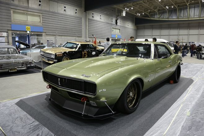 Chevrolet Camaro custom Mooneyes 2015