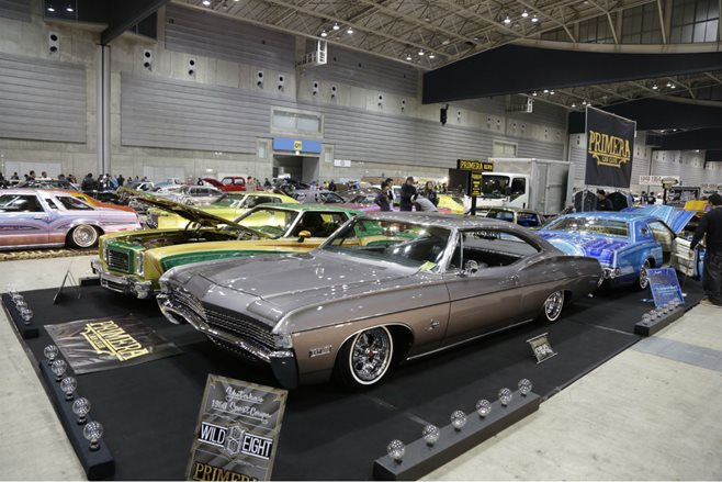 Mooneyes rod and custom show 2015