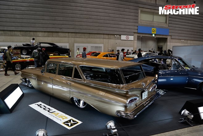 Mooneyes 2015 '59 Chev wagon