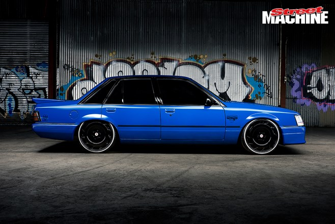 VK Commodore Blue Meanie