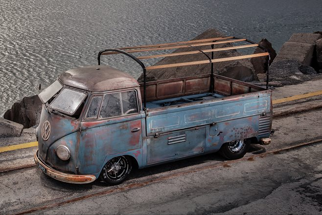 Phil Mizzi's Blown 1954 Kombi