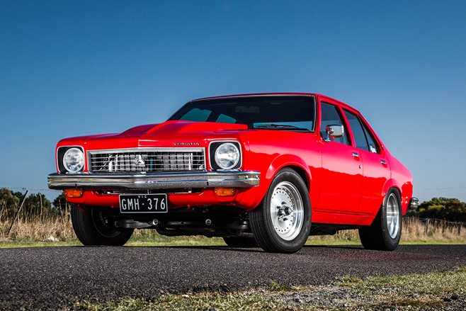 LX TORANA NINE-SECOND STREET WEAPON