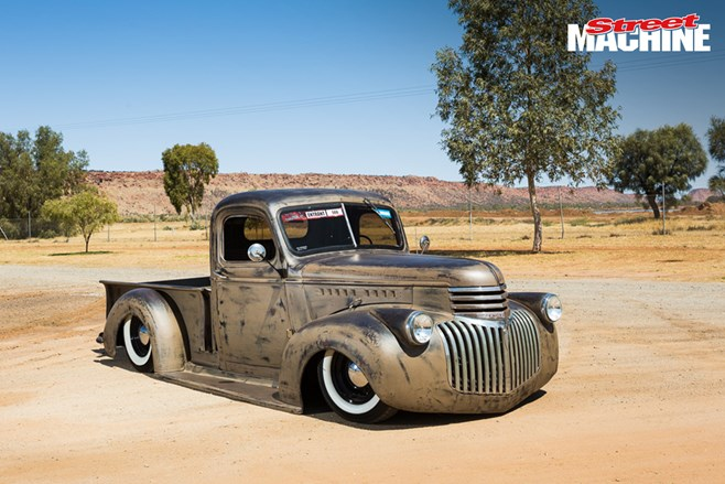 42 Chevy Pick Up custom