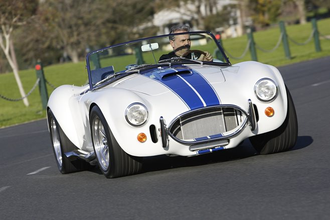 FULL FEATURE: MICHAEL SCHUMACHER'S AUSSIE-BUILT SHELBY COBRA REPLICA