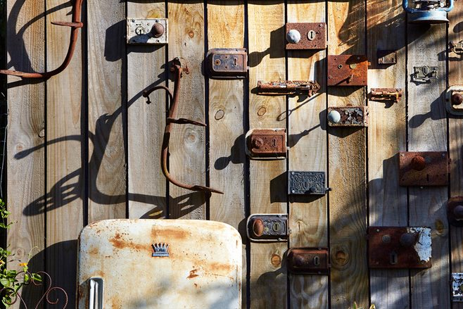 PETE ROBINS' BACKYARD COLLECTION OF VINTAGE METAL
