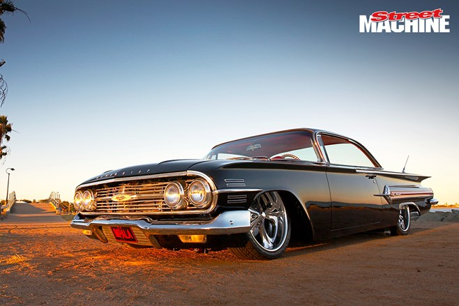 60 Chevrolet Impala Bubbletop custom