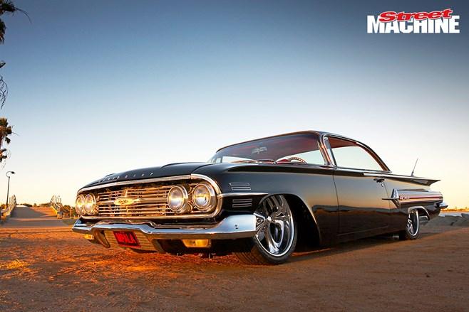60 Chevrolet Impala Bubbletop Custom Street Machine