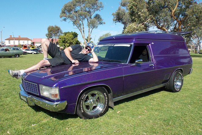 Rob Burns Majestic Vanners