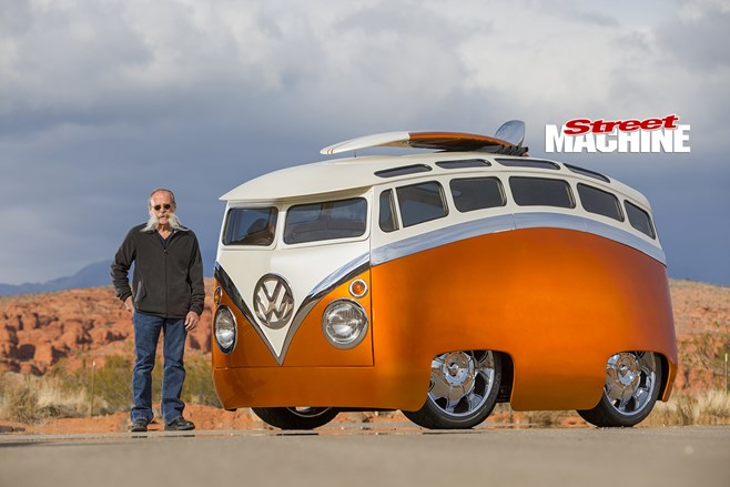 RON BERRY'S 'SURF SEEKER' VW KOMBI CUSTOM