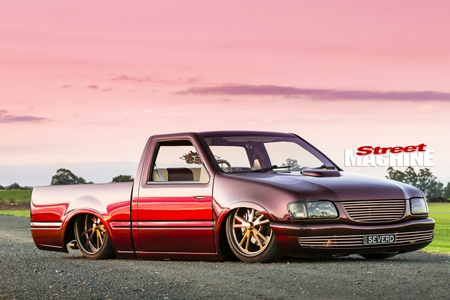 SLAMMED & CHOPPED HOLDEN RODEO MINI TRUCK WITH AN LS1