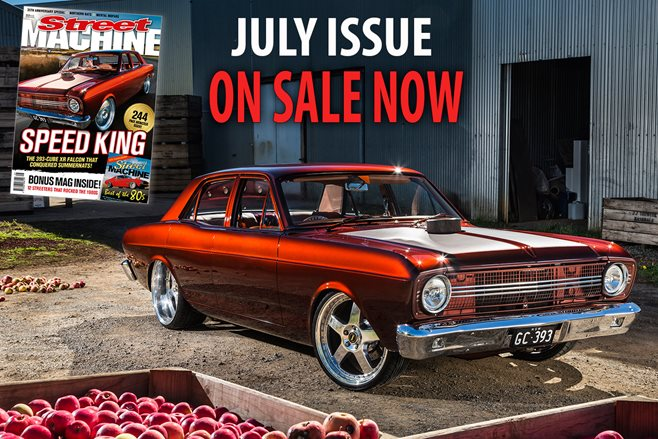 STREET MACHINE: JULY 2016