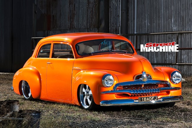 CHOPPED HOLDEN FJ
