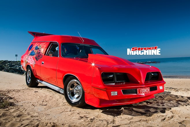 SIMON MAJOR'S 1977 CHRYSLER CL VALIANT PANELVAN - DISTURBIA