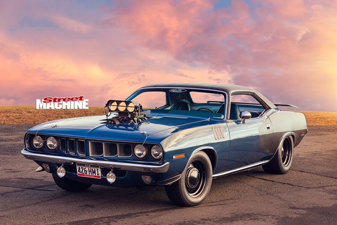 HEMI POWERED 1971 PLYMOUTH BARRACUDA