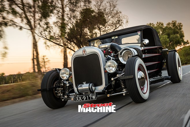 29 Ford Model A Roadster pick up big block turbo