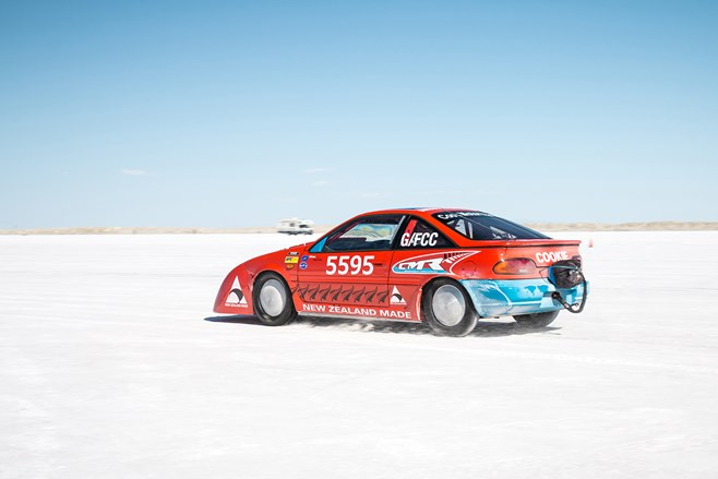 Speed Week Bonneville Nissan