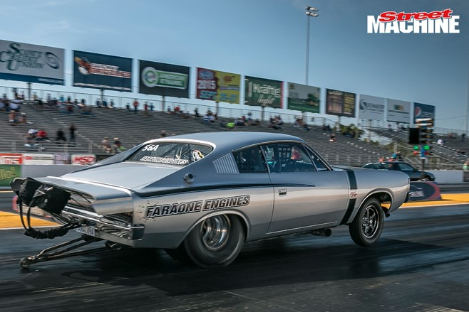 Valiant Charger Faraone Drag Week