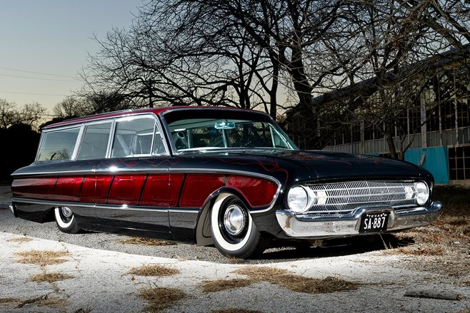 CUSTOM 1961 FORD FALCON TWO-DOOR WAGON