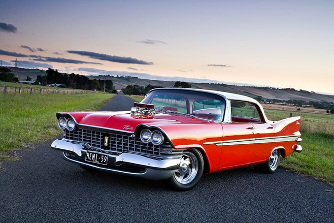 BLOWN 1959 PLYMOUTH BELVEDERE