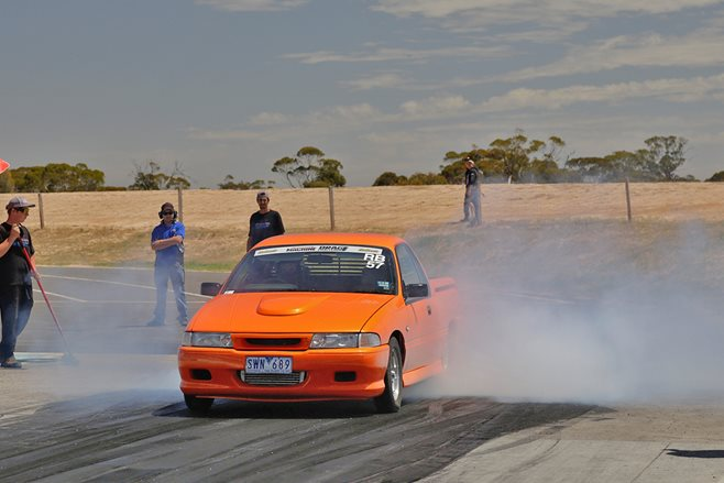 BLOWN 355CI HOLDEN V8-POWERED VP COMMODORE UTE