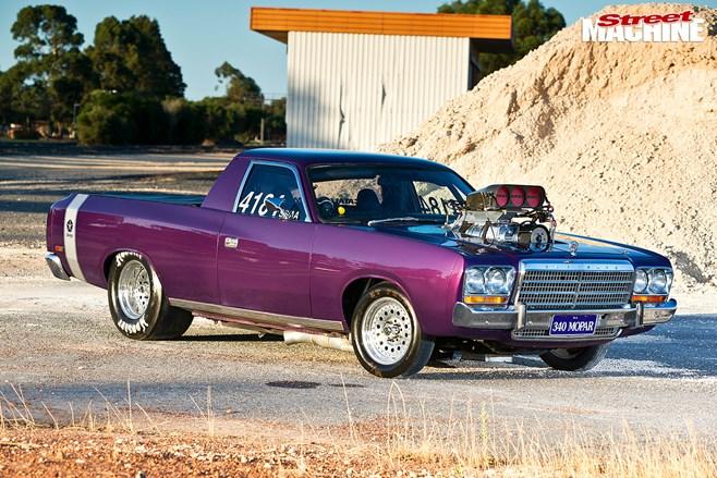 8 Second Blown 1973 Chrysler Vj Valiant Ute Street Machine