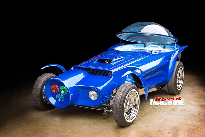 Ed Big Daddy Roth S Orbitron Custom Car Street Machine