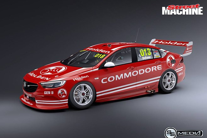 This is what the 2018 holden commodore race car could look like 2018 holden commodore race car sciox Gallery