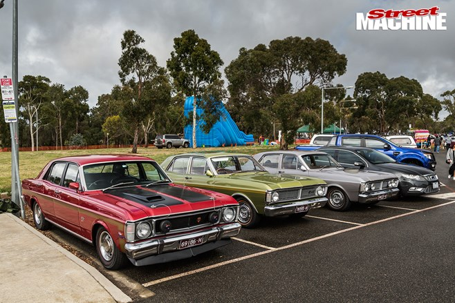 Kiwanis All Ford Day - Geelong