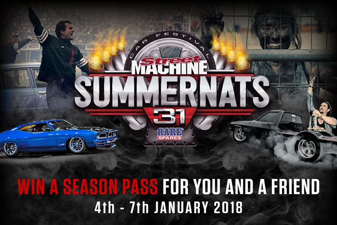Win Summernats 31 tickets