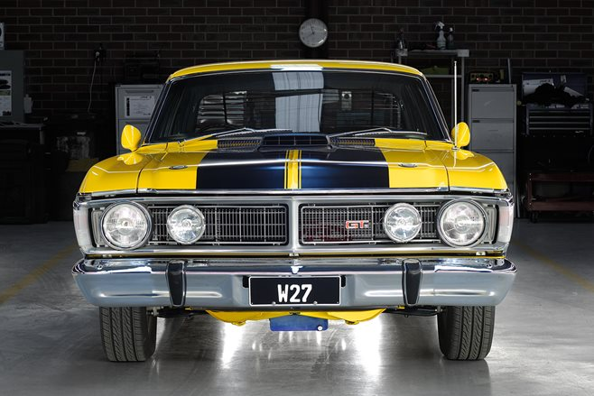 ford falcon xy front