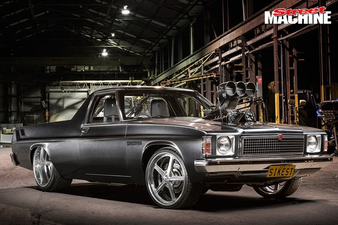 Car Magazine Hk Show Stopping Blown Big Block Holden