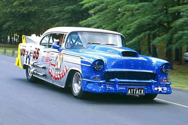 1955 Chevrolet Sports Coupe Attack Final Objective