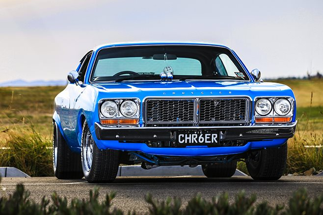 chrysler charger front