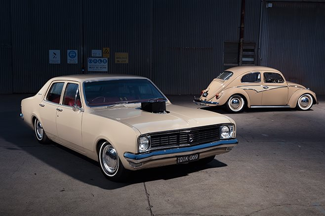 holden ht front angle