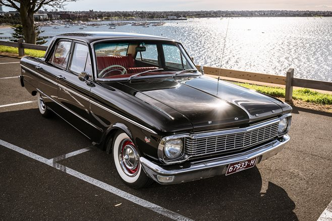 ford xp falcon front
