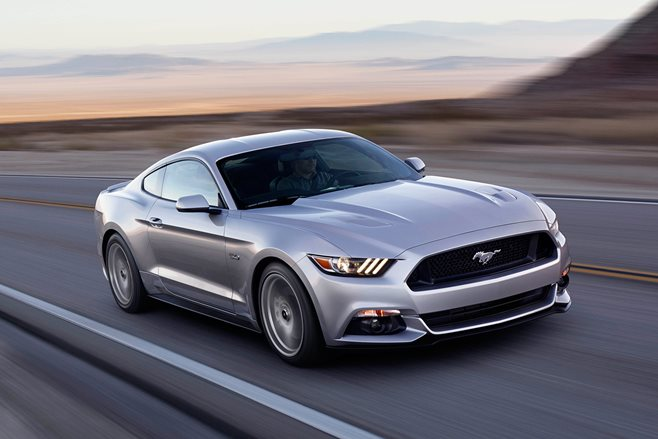 2015 Ford Mustang GT V8 test drive review
