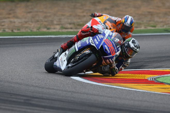 MotoGP: Jorge Lorenzo wins at Aragon