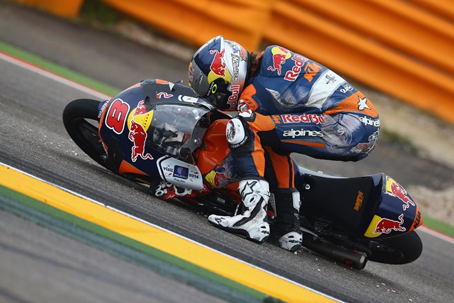 Moto3: Jack Miller crashes out
